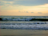 Waves Hitting the Seabeach Photographic Print by Shampad Momin