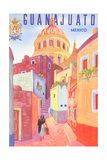 Poster for Guanajuato, Mexico, Colonial Streets Julisteet