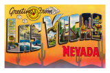 Greetings from Las Vegas, Nevada Posters