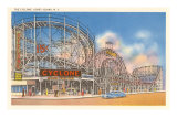 The Cyclone, Coney Island, New York Print