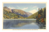 Echo Lake, Franconia Notch, New Hampshire Photo