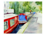 Regent's Canal Giclee Print by Mary Stubberfield
