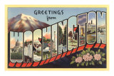 Greetings from Washington Prints