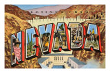 Greetings from Nevada Posters