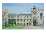 Kings Gate, Trinity College Giclee Print by Peter French