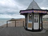 Brighton Massage Photographic Print by Paul Tolhurst
