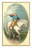Washington on Horse, First in War Prints