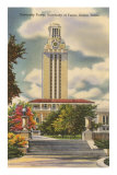 University Tower, Austin, Texas Print