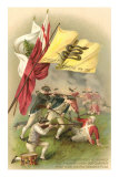 Don&#39;t Tread on Me Flag, Battle Scene Posters
