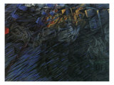 Stage of Mind: Those Who Go Reproduction procédé giclée par Umberto Boccioni