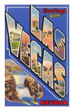 Greetings from Las Vegas, Nevada Prints