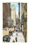 Wall Street, New York City Posters