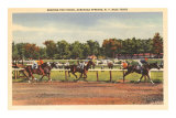 Horse Race, Saratoga Springs, New York Posters