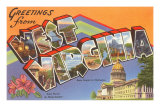 Greetings from West Virginia Prints