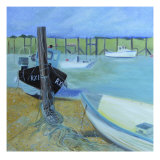 Rye Harbour Giclee Print by Mary Stubberfield