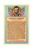 Gettysburg Address, Art Print