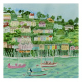 Dartmouth Harbour Giclee Print by Mary Stubberfield