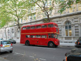 London Red Bus Photographic Print by Paul Tolhurst
