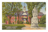 College of William and Mary, Williamsburg, Virginia Print