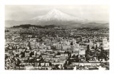 Mt. Hood over Portland, Oregon Prints
