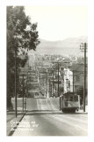 Cable Cars, Fillmore Street, San Francisco, California Prints