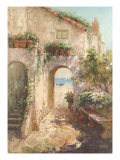 Bernazza Arch Print by  Fabio