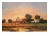 Summer Harvest Giclee Print by Raymond Knaub