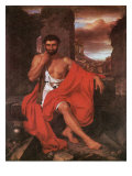 Caius Marius on the Ruins of Carthage Gicl&#233;e-Druck von John Vanderlyn