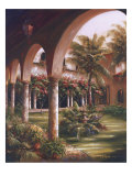 Palm Entrance I Giclee Print by J. Martin