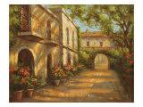 Arched Passageway Gicl&#233;e-Druck von Enrique Bolo