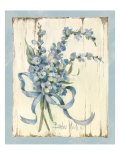 Summer Bouquet of Blues I Giclee Print by Barbara Mock