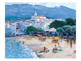 Along the Costa Brava Giclee Print by Howard Behrens