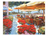 Cafe Ravello Impresso gicle por Howard Behrens