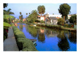 Blue Canal Giclee Print by Jack Heinz