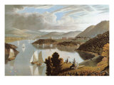 West Point, from Above Washington Valley Giclee Print by W. J. Benett