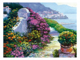 Near Amalfi Giclee Print by Howard Behrens