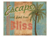 Tropical Escape Giclee Print by Ted Zorns