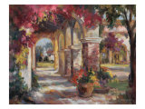 Flowered Archway Prints by Betty Carr