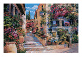 Riviera Stairs Giclee Print by Howard Behrens