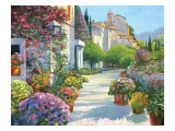 Blissful Burgundy Giclee Print by Howard Behrens