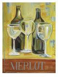 Merlot Posters by Jennifer Sosik