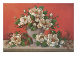 Classical Magnolia II Prints by Janet Kruskamp