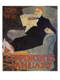 Lippincott's January Giclee Print by J. J. Gould