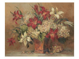 Autumn Lilies Giclee Print by Barbara Mock