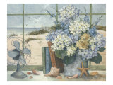 Beach Cottage Reproduction proc&#233;d&#233; gicl&#233;e par Barbara Mock