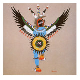 Eagle Dance Giclee Print by Stephen Mopope