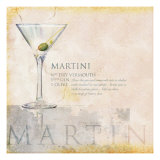 Martini Giclee Print by Scott Jessop