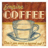 Empire Coffee Giclee Print by Ted Zorns