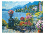 Varenna Morning Giclee Print by Howard Behrens