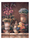 Victorian Blossoms I Premium Giclee Print by James Lee
